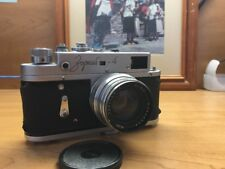 KMZ Zorki-4 35mm Rangefinder Film Camera With Jupiter 8 Lens