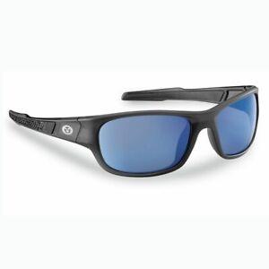 New Flying Fisherman Last Cast Smoke Granite Blue Mirror Sunglasses