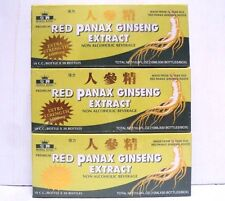 3 Box Royal King Red Panax Ginseng Extract Total 90 Bottle Extra Strength 6000mg