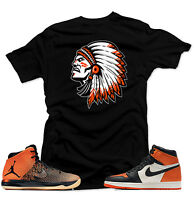 "Shirt to match  Air Jordan  1 Shattered Backboard Sneakers"" The Chief'"" Black"