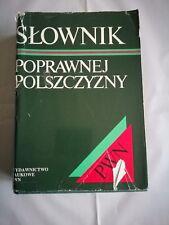 Slownik Poprawnej Polszczyzny PWN