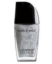 Wet N Wild WILDSHINE Nail Polish - 471B Kaleidoscope Silver Glitter