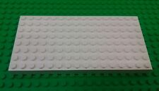 *NEW* White Base plate 8x16x1 Stud Thick Baseplate Platform x 1 piece