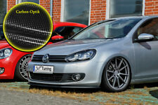 Spoilerschwert Frontspoiler Lippe aus ABS für VW Golf 6 mit ABE Carbon Optik