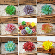 Set Of 8  Indoor & Outdoor  Artificial Succulent Plants Home Office Table Decor
