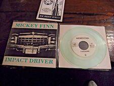 """Mickey Finn Impact Driver b/w Forehead Clear Vinyl 7"""" Single BMI-028"""