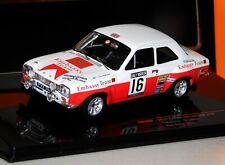 FORD ESCORT MK1 RS1600 #16 RAC 1971 T. MAKINEN IXO RAC260 1/43