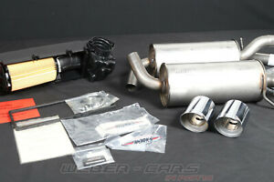 2152218 New OEM BMW Mini Cooper S US R55 John Works Tuning Kit Jcw Exhaust