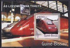Guinea-Bissau Block 364 (1885) **, Thalys-Lokomotiven / Locomotives