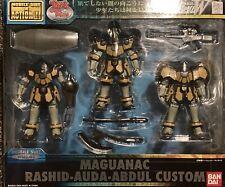 Bandai Mobile Suit Gundam Maguanac Trio Rashid Abdul Auda Action Figure MSIA