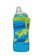 Nuk Blue Turtle Silicone Spout Active Cup, 10Ounce