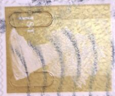1 x GB USED ERROR/VARIETY GOLD 1ST SECURITY 2011 MACHIN STAMP - M11L/ MTIL SHIFT