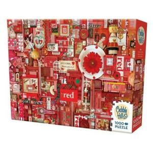 Cobble Hill 80146 Rainbow Project Red 1000pc Puzzle Brand New