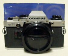 Vintage OLYMPUS OM10 35mm SLR Film Camera Body Only Tested Working w/Manual