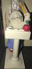 Snowbabies Let's Pretend- Teacher'S Helper -Mint in Box