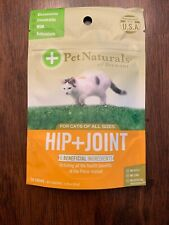 Pet Naturals of Vermont Hip + Joint Cat Chews, 30 count  Free Shipping