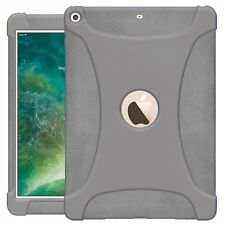 For iPad 9.7 2017 AMZER Case Soft Gel Silicone Skin Jelly Back Smart Grip Cover