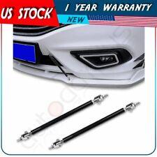 Carbon Fiber Universal Support Fit Left Front 150mm Bumper Lip Splitter Rod