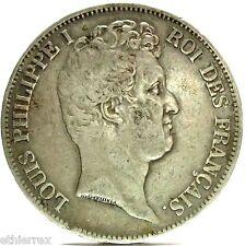 France (L.Philippe I) 5 F.-1830 A,RARE rilief legend
