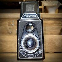 Lipca Flexora TLR Camera Working Order! Rare Early Model 120 Film Camera Lomo?