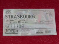 [COLLECTION SPORT FOOTBALL] TICKET PSG / STRASBOURG 26 JANVIER 2000 Champ.France