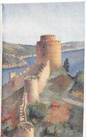 Turkey CONSTANTINOPLE Syria Beyrouth Postcard Ottoman c1910 Roumelie Hissar C52