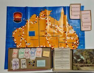 Discover Australia Board Game 1974 - Complete - Vintage - John Sands -