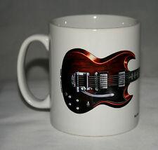 Guitar Mug. Mick Taylor's Gibson SG