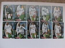 Collection of 10 Bolton Wanderers playes issued for 2001-02.