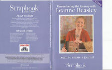 Scrapbook Creations-Remembering The Journey With Leanne Beasley-Scrapbook-DVD