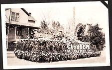 1929-35 APPLE BLOSSOM FESTIVAL CITY OF CASHMERE FLOAT WENATCHEE WASHINGTON PHOTO