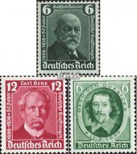 Imperio Alemán 604-605,608 (edición completa) con fijasellos 1936 Coches, gueric