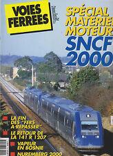 VOIES FERREES N°118 SPECIAL MOTEUR SNCF 2000 / 141 R 1207 / BOSNIE  / 141 R