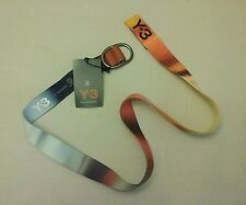 NWT Yohji Yamamoto Y-3 Graphic Multi Color Belt Double D Ring fastening Size  M