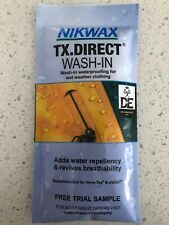 7x NIKWAX TX Direct Wash-in OUTDOOR CLOTHING Imperméabilisation reproofer