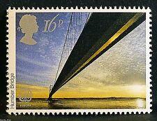 """""""Humber Bridge"""" illustrated on 1983 Stamp - U/M"""