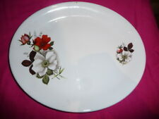 """Ironstone oval serving dish - lovely must see - 11"""""""