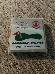 9th Annual 1966 San Diego Americna Airlines Golf Tournament Trophy