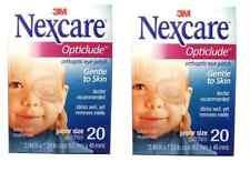 3M NEXCARE OPTICLUDE JUNIOR 1537 Orthoptic Eye Patch 2 Box 40pcs, 6.2 * 4.6 cm