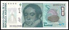 ARGENTINA  - 1 Austral - Paper Money UNC