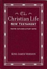 The Christian Life New Testament : With Master Outlines pre-owned 1978!!!!
