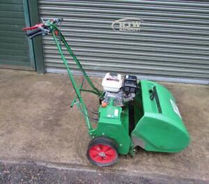 "Lloyds Paladin pedestrian mower, 24"" 5 bladed cylinder mower"
