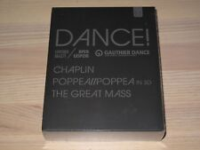 Dance! 3 Blu-Ray Box - Chaplin / Poppe a / Mozart The Great Mass en Emb. Orig.