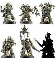 Warhammer 40,000 Space Marine Heroes Series 3 Plastic Model Set of 6 Max Factory