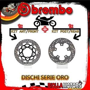 BRDISC-4442 KIT DISCHI FRENO BREMBO SUZUKI GSX R 2006-2007 750CC [ANTERIORE+POST