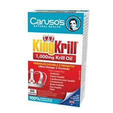 Carusos King Krill Oil 1000MG 60 Capsules