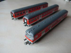 Steuer-, 1. Klasse- und 2. Klasse Nahverkehrswagen, DB AG (Spur H0; 1:100)