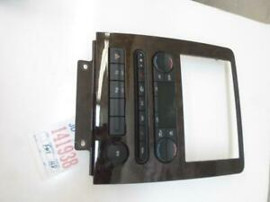 CLIMATE CONTROL FORD FIVE HUNDRED 2005 2006 2007 G302BD3 OEM