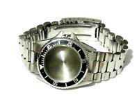 Caja Diver correa cierre Case reloj Original acero inoxidable 25mm diam interior