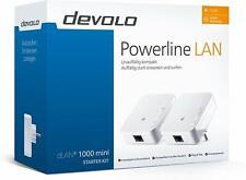 DEVOLO dLAN 1000 mini+ Starter Kit Powerline Adapter  1000 Mbit/s